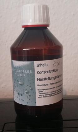 Kolloidales Silber 50 ppm